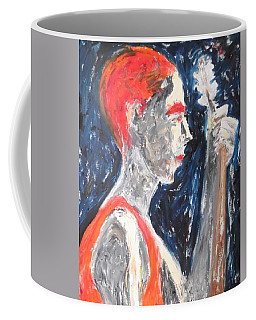 The Turkish Baglama Player Coffee Mug