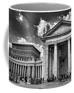 The Tuscan Colonnades In The Vatican Coffee Mug