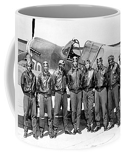 The Tuskegee Airmen Circa 1943 Coffee Mug