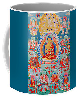 The Twelve Primordial Teachers Of Dzogchen - Tonpa Chu Ni Coffee Mug