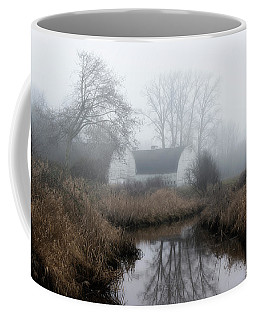 The Twin Barns Of Nisqually Coffee Mug