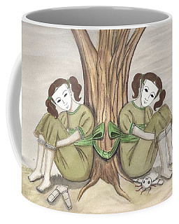 The Twins Wait Coffee Mug