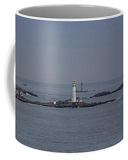 The Two Harbor Lighthouses Coffee Mug