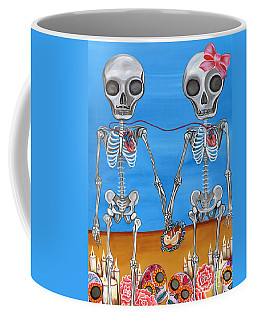 The Two Skeletons Coffee Mug