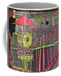 The Umbrella Roof Coffee Mug by Sandra Church