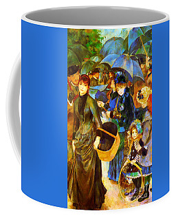 The Umbrellas By Renoir Coffee Mug