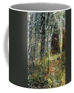 Coffee Mug featuring the painting The Underbrush by Frances Marino