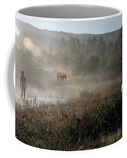 The Unexpected Visitor Coffee Mug