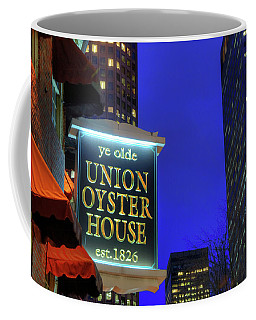 Coffee Mug featuring the photograph The Union Oyster House - Boston by Joann Vitali