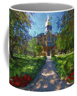 The University Of Notre Dame Coffee Mug