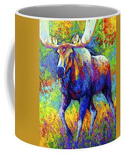 The Urge To Merge - Bull Moose Coffee Mug