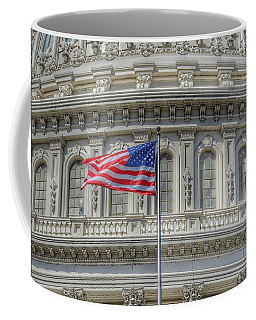 The Us Capitol Building - Washington D.c. Coffee Mug