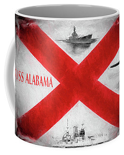 The Uss Alabamas Coffee Mug by JC Findley