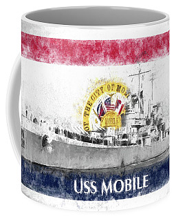 The Uss Mobile Coffee Mug by JC Findley