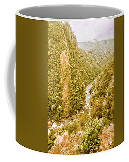 The Valley Below Coffee Mug