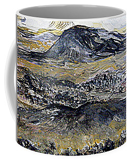 Coffee Mug featuring the painting The Valley City by Nancy Kane Chapman