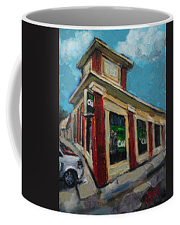 The Valley Cw Coffee Mug by Carole Foret