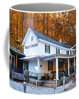 The Valley Green Inn In Autumn Coffee Mug