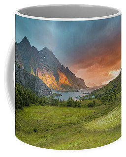 The Valley Of Light Coffee Mug