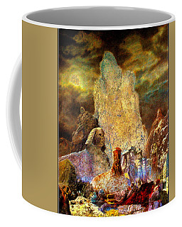 The Valley Of Sphinks Coffee Mug
