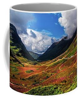 The Valley Of Three Sisters. Glencoe. Scotland Coffee Mug