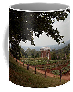 The Vegetable Garden At Monticello Coffee Mug