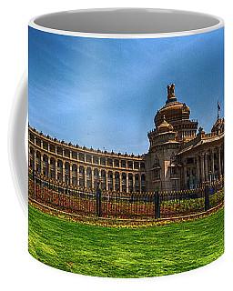 The Vidhana Soudha Coffee Mug by Pravine Chester