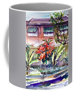 The View Behind The Fence Coffee Mug