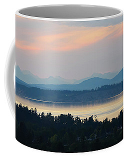The View From Mt. Tolmie Coffee Mug by Keith Boone