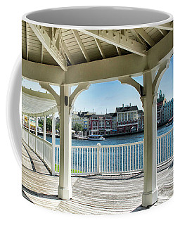 The View From The Boardwalk Gazebo At Disney World Mp Coffee Mug