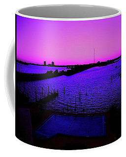The Purple View  Coffee Mug