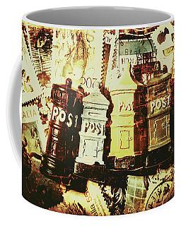 The Vintage Postage Card Coffee Mug