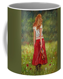 The Violinist Coffee Mug