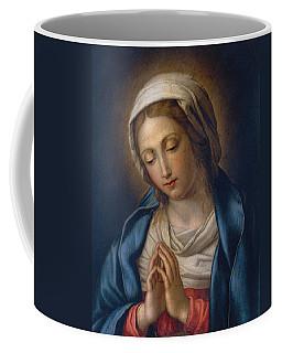 The Virgin At Prayer Coffee Mug