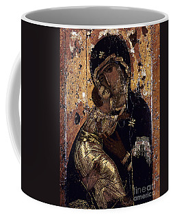 Coffee Mug featuring the photograph The Virgin Of Vladimir by Granger