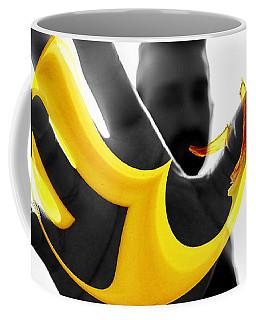 The Virtual Reality Banana Coffee Mug