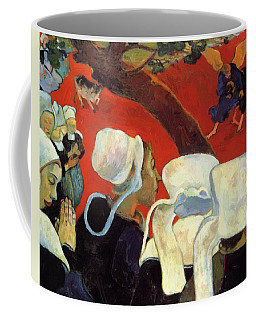 The Vision After The Sermon Jacob Wrestling With The Angel 1888 Coffee Mug