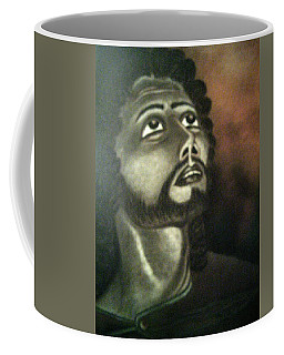 The Vision Of St. Christopher Coffee Mug