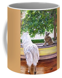 The Visit Coffee Mug