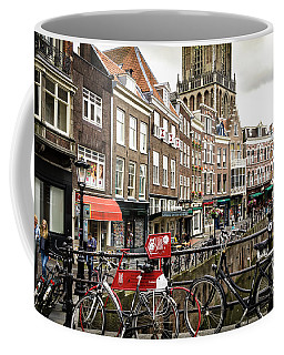 Coffee Mug featuring the photograph The Vismarkt In Utrecht by RicardMN Photography