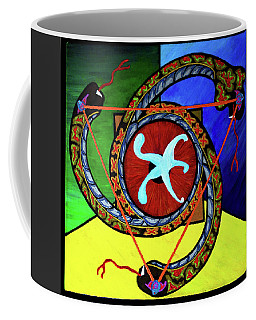 The Vitruvian Serpent Coffee Mug