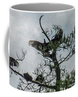 The Vultures Are Waiting Coffee Mug