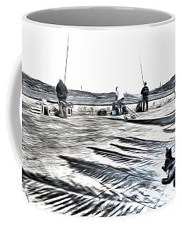 The Waiting Game Art Coffee Mug