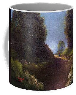 The Walk Home Coffee Mug by Marlene Book