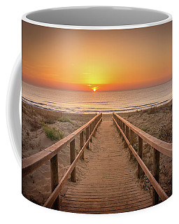 The Walkway To The Sun. Coffee Mug