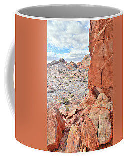 The Wall At Valley Of Fire Coffee Mug