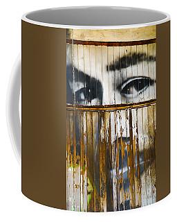 The Walls Have Eyes Coffee Mug
