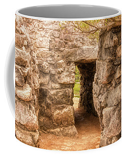 The Walls Of Tulum Coffee Mug