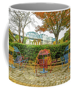 The Walnut St Bridge From The Park # 2 Coffee Mug