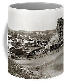 The Wanamie Colliery Lehigh And Wilkes Barre Coal Co Wanamie Pa Early 1900s Coffee Mug